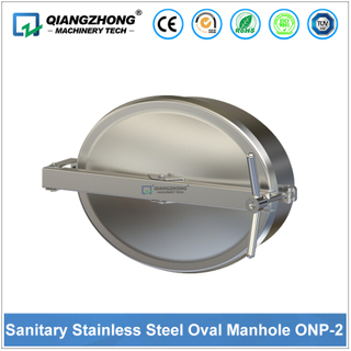Sanitary Stainless Steel Oval Manhole OPN-2