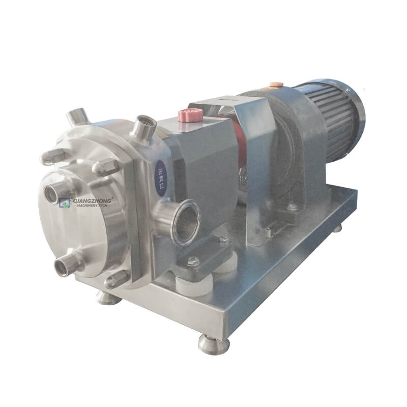 Rectangle Port Rotor Pump