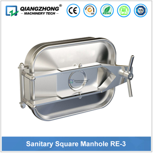 Sanitary Rectangular Manhole