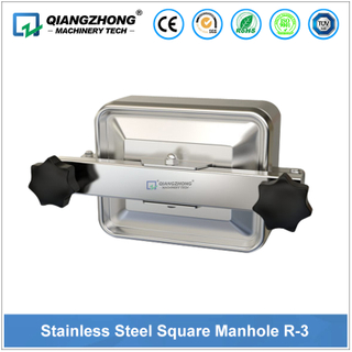 Stainless Steel Square Manhole