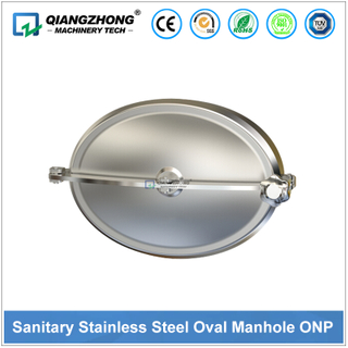Sanitary Stainless Steel Oval Manhole ONP